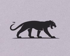 Panther Sciences by Nagual Panther Sciences de Nagual - Tiger Logo, Cat Logo, Pantera Logo, Monster Co, Jaguar, Design Art, Logo Design, Purple Cat, Mascot Design