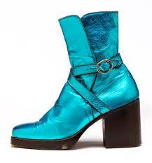 vintage boot + leather paint idea