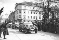 Nach dem Einmarsch von Hitler im März 1938 verschwindet Österreich von der Landkarte. Mehr dazu hier: http://www.nachrichten.at/nachrichten/150jahre/tagespost/Die-Tragoedie-unserer-Geschichte;art171761,1688314 (Bild: privat)