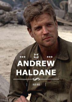 Andrew Haldane (Ack-Ack).