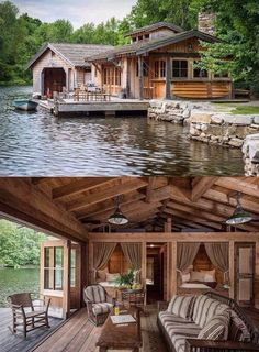 Love this house, on the water.