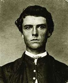 William F. Cody at the age of 19 in 1865