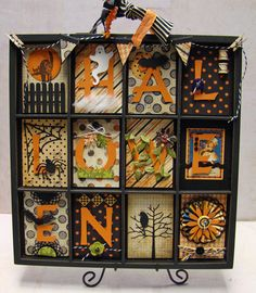 Halloween Printers Tray by Tracie