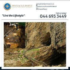 Pinnacle Point Beach & Golf Resort is not only a wonderful holiday destination but a heritage site too, come and join us on a fun and educational journey through time at our Historical Caves. #destination #lifestyle #history