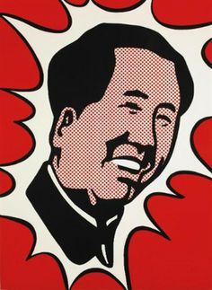 Roy Lichtenstein Mao, 1971