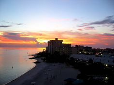 Clearwater Beach sunset, Clearwater, Florida
