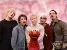 Backstreet Boys on Sesame Street - one small voice