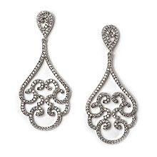Joelle CZ Wedding Earrings