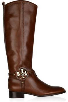 d06f87fe2c944f Tory Burch Aaden Leather Boots Tall Riding Boots