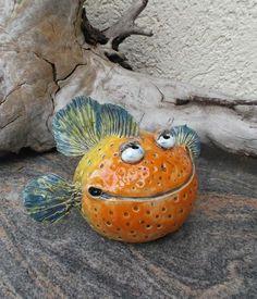 grinsender Fisch