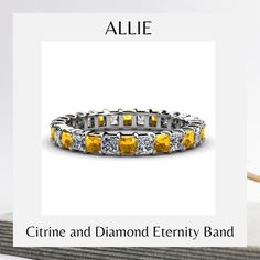Eternity Bands, Princess Cut, Jewelry Trends, White Gold, Gemstones, Diamond Rings, Sparkle, Link, Shop