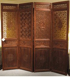 Portable Chinese Room Dividers