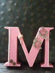 Letras decoradas. .. by Marisa Fernandes