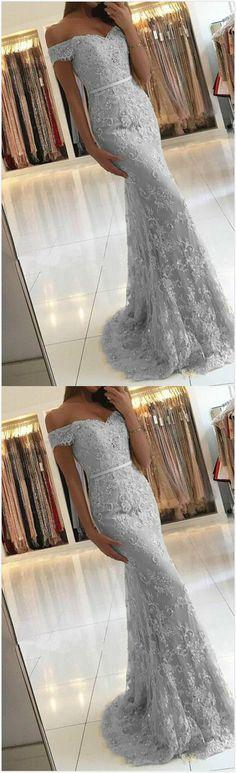 Mermaid lace Prom Dress,Sexy Prom Dress,Long Prom Dress,2018 Prom gown #promdress
