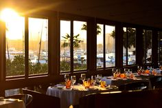 California cuisine with #Mediterranean influences is served at Cafe del Rey in Marina del Rey, CA. #Restaurants