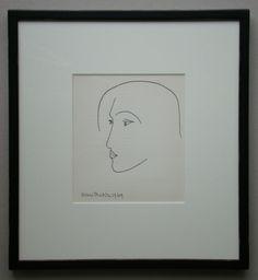 Henri Matisse - Tête, 1949