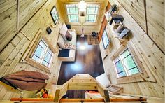 10 Space-Saving Ideas From an Itty-Bitty Home - You'll find lots of inspiring ideas for any small space...I love this tiny house!!!!