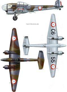 Potez 63/630/631/633/637 | France | 2 Escadrille, GR II/33, Armee de l ...