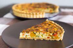 干し野菜のキッシュ(ラタトゥイユ・タルト) レシピブログ