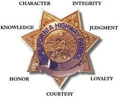 Meaning for the points of the highway patrol badge Law Enforcement Badges, Enforcement Officer, California Law, California Highway Patrol, Police Badges, Police Uniforms, Police Code, Fire Badge, Police Patches