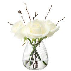 LSA International - Flower Texture mini table vase