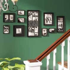 17 Fabulous Photo Frame On Stand Photo Frame Sets For Wall Collage Hanging Picture Frames, Picture Frame Sets, Frames On Wall, Family Picture Collages, Collage Picture Frames, Wall Collage, Wall Art, Picture On Wood, Picture Wall