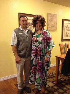 Mr And Mrs Roper Costume