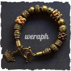 Bracelet with superduo beads