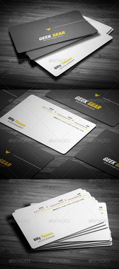 Creative Line Business Card