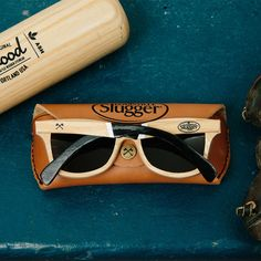 Louisville Slugger Canby Select Sunglasses by Shwood - $495