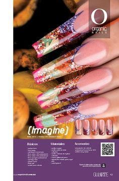 26 Imagine René Ortiz / Promaster Organic® Nails Diseño publicado en la revista Lo Mejor No. 26 de Organic® Nails. http://youtu.be/zbVKyWJsU_Q?list=PLVzihPafxEEwjNT0GraEhIaapZy8j2fXW
