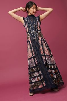 Shop the Korovilas High-Neck Maxi Dress and more Anthropologie at Anthropologie today. Read customer reviews, discover product details and more.