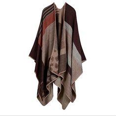 Women Stylish Plaid Checked Knitted Winter Tartan Cape Po... https://www.amazon.co.uk/dp/B01M1DV2J0/ref=cm_sw_r_pi_dp_x_VOe.xbFVCDGHF