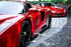 Ferrari Enzo and 599 GTO. Choices....choices....