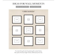 Tips for Creating a Frame Display