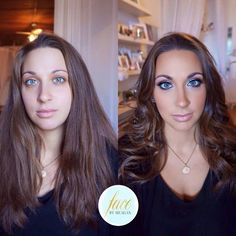 Face by Meagan - Before & After Makeup for Boudoir Shoot