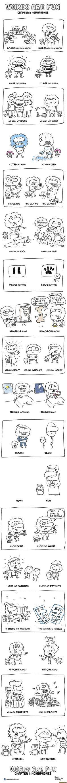 MORNINGSUNDAENIGHT1CHPPTER I: HOMOPHONESablostanlayartSSfe/0,comics,funny comics & strips, cartoons,pablo stanley,words,pun