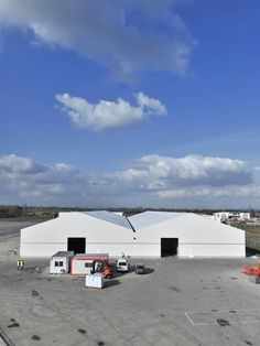 #entrepôt de #stockage #temporaire construit et installé par #Legoupil #industrie. #Bâtiment industriel de 5000 m².