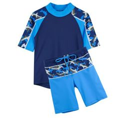 6bd48f828d9 Tuga 2 piece Hammerhead Boys Set Sun Protection