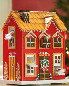 Gingerbread House Advent Calendar | Buy from Gardener's Supply