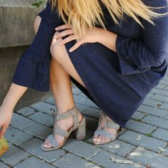 Viernes ➡ Vestido Flavia 21€ de www.charlotteonline y sandalias de sitgetana- Barcelona
