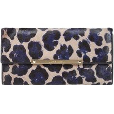 Pre-owned Jimmy Choo Marilyn Leopard Print Clutch (6,690 MXN) ❤ liked on Polyvore featuring bags, handbags, clutches, leopard print, pre owned handbags, leather purse, leather envelope clutch bag, leopard clutches and jimmy choo handbag