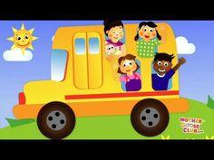 Wheels on the Bus - Back to School! - Mother Goose Club Nursery Rhymes