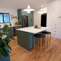 - The Circle Boise Boys, Circle House, Custom Cabinets, Love Design, Home Renovation, Home Kitchens, Mid-century Modern, Table, Boise Idaho