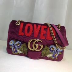 074a8f7e108 Gucci Exclusive GG Supreme Mini Chain Bag Flower 409535 2017