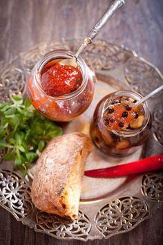 Яблочный конфитюр с шалфеем и можжевельником / Конфитюр из перца чили