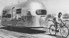 In 1931, Airstream began with Wally   Byam's dream: to build a travel trailer that would move like a stream of air, be light enough to be towed by a car and create first-class accommodations anywhere.
