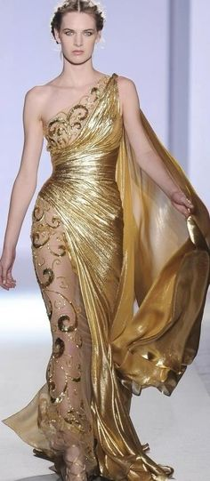 Gold dress....Possibly a reception