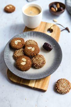 Muffins Au Café, Biscuit Vegan, Patisserie Vegan, Donuts, Cereal, Cookies, Ramadan, Breakfast, Healthy