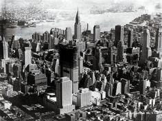 Rockefeller Center under construction in 1932